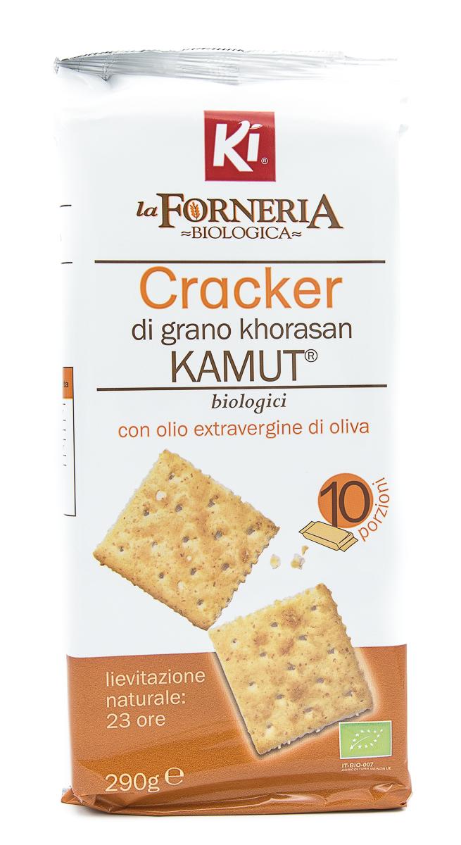 KI GROUP SpA Ki La Forneria Crackers Di Kamut 290g