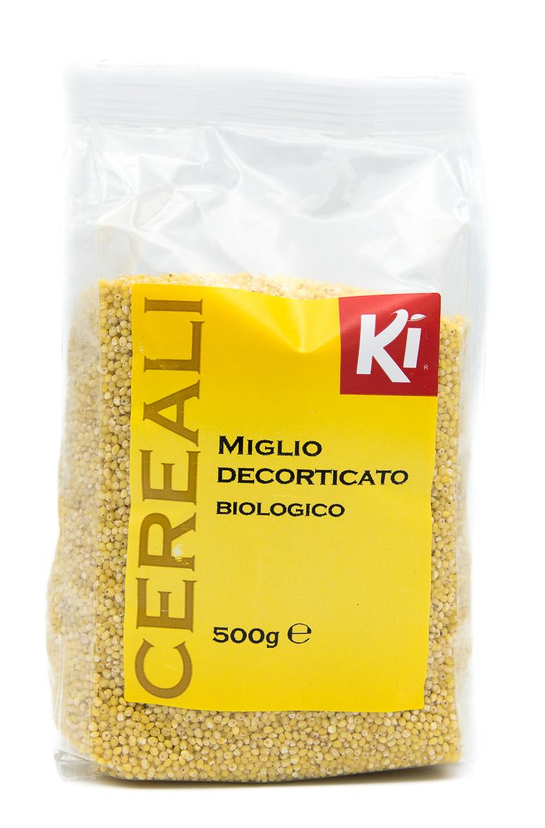 KI GROUP SpA Ki Cereali Miglio Decorticato Biologico 500g