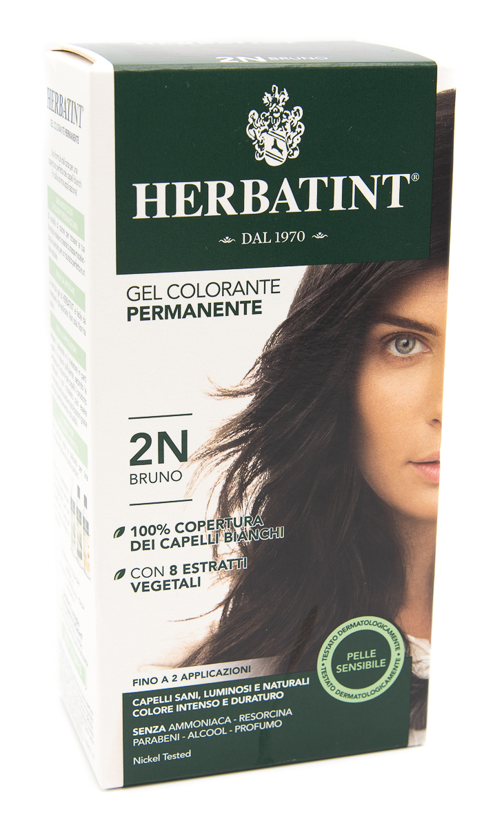 ANTICA ERBORISTERIA SpA Herbatint Gel Colorante Permanente Colore 2n Bruno