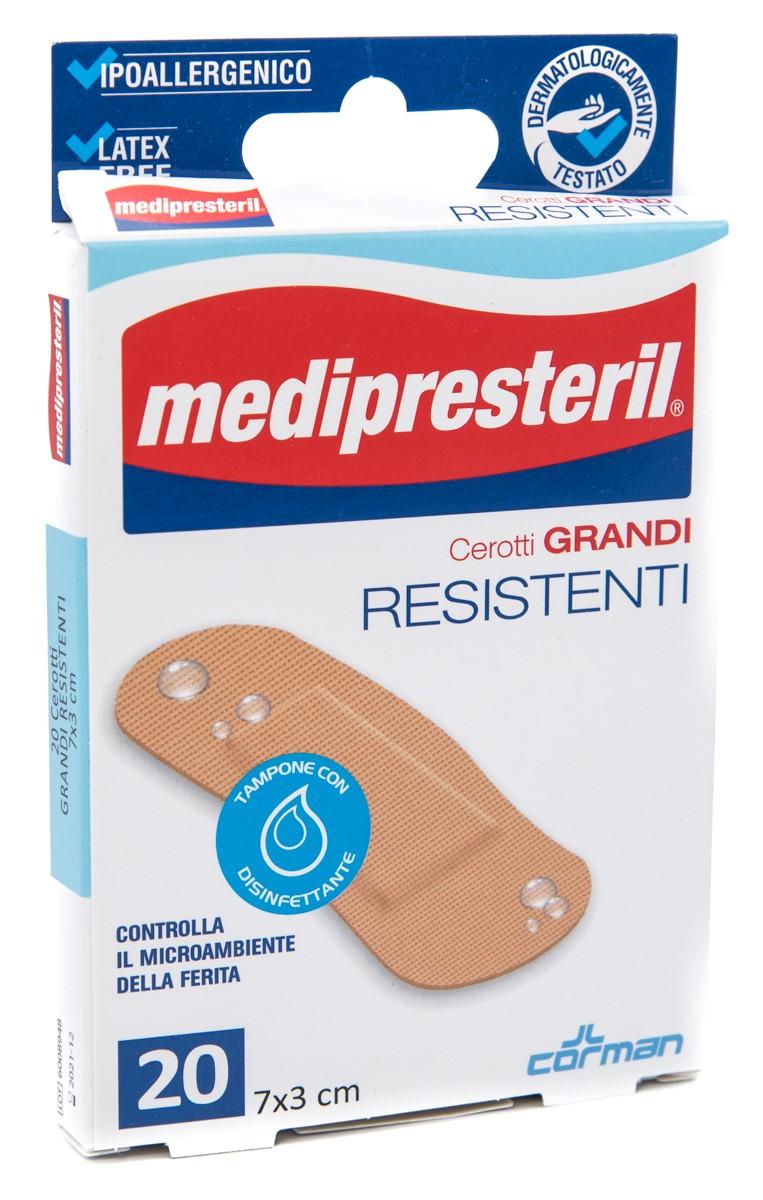 CORMAN SpA Medipresteril Cerotti Resistenti Grandi 7x3 Cm 20pz
