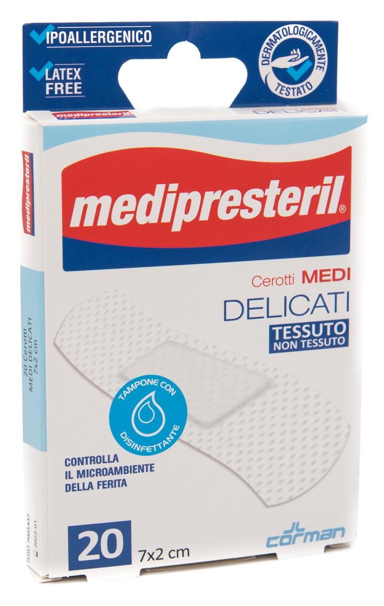 CORMAN SpA Medipresteril Cerotti Delicati Medi 7x2 Cm 20pz
