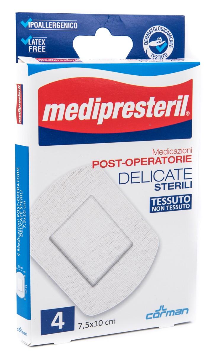 CORMAN SpA Medipresteril Medicazioni Post Operatorie Delicate 7.5x10 Cm 4pz