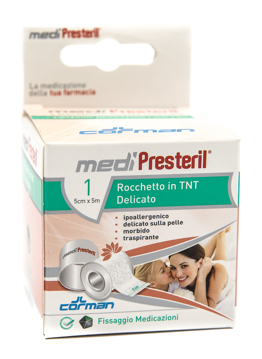 CORMAN SpA Medipresteril Cerotto Rocchetto In Tnt 5cmx5m 1pz