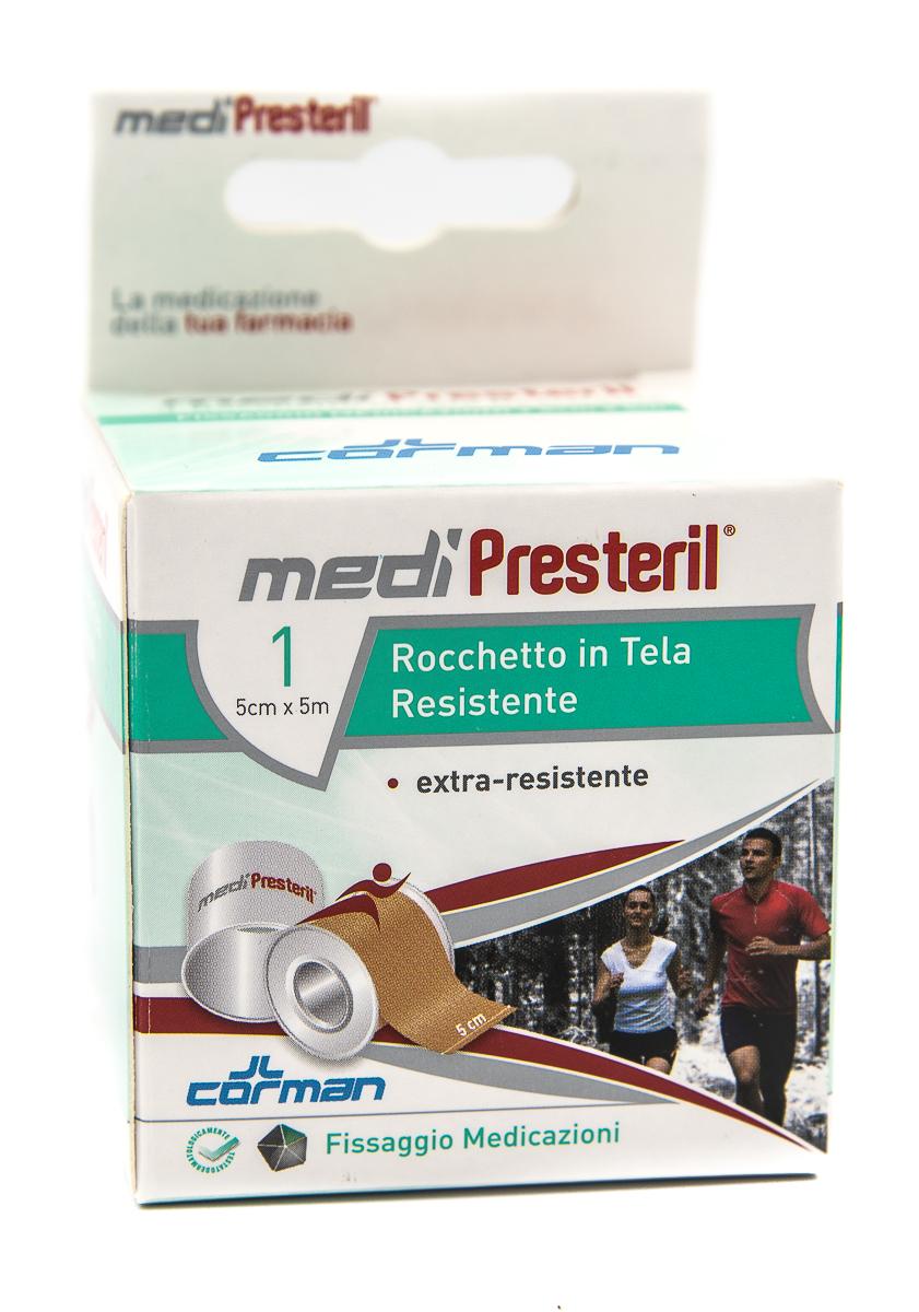 CORMAN SpA Medipresteril Cerotto Rocchetto In Tela 5cmx5m 1pz