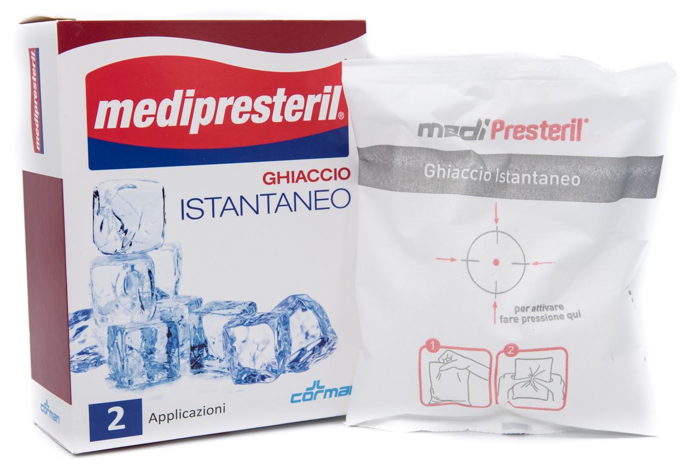 CORMAN SpA Medipresteril Ghiaccio Istantaneo 2bst