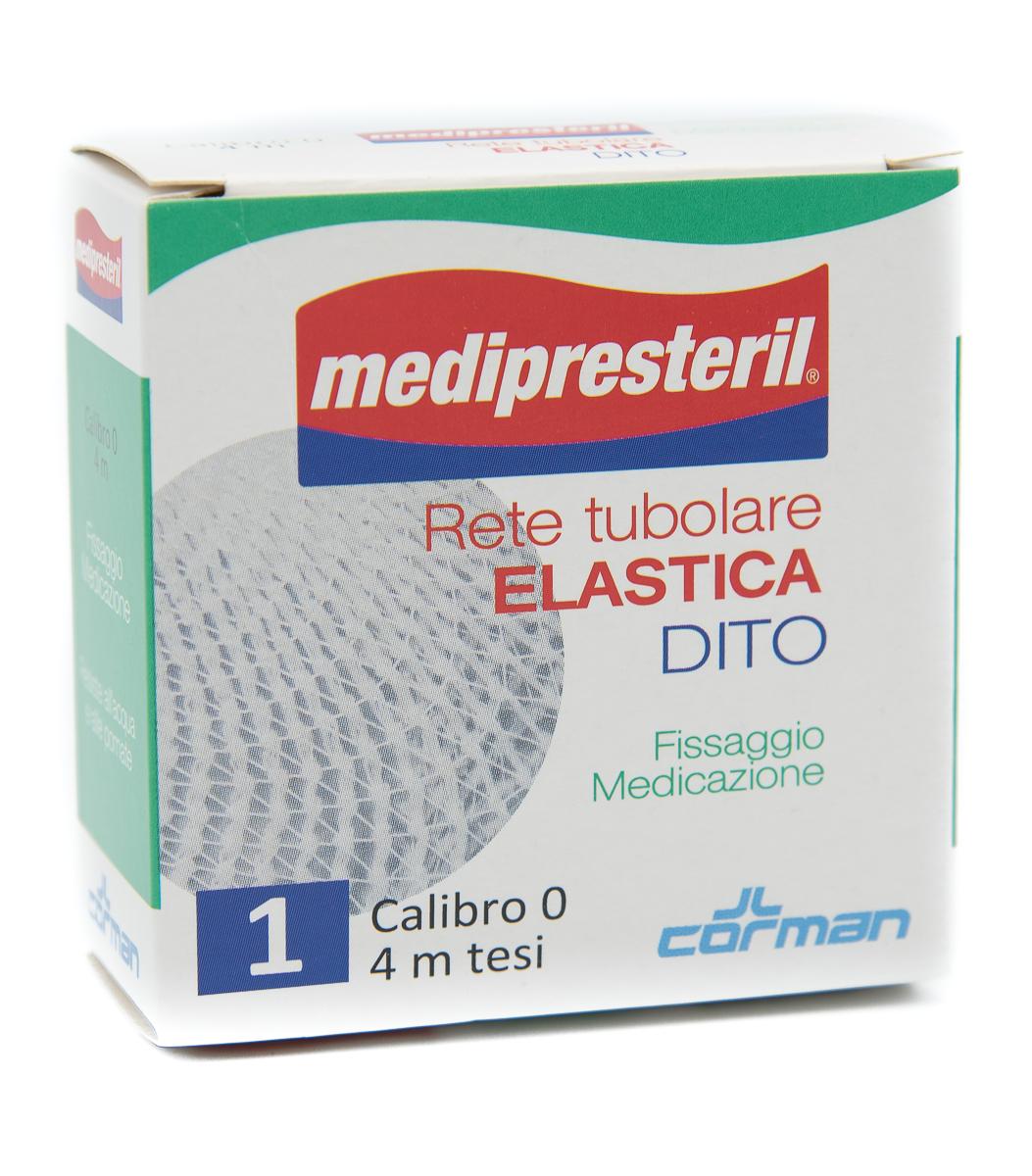 CORMAN SpA Medipresteril Rete Tubolare Elastica Dito Calibro 0 4 Metri 1pz