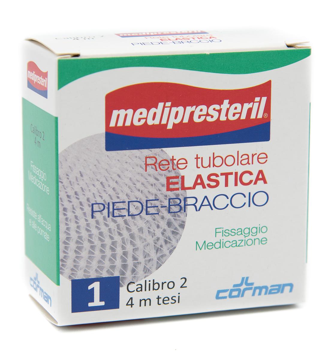 CORMAN SpA Medipresteril Rete Tubolare Elastica Piede Braccio Cal2 4m 1pz