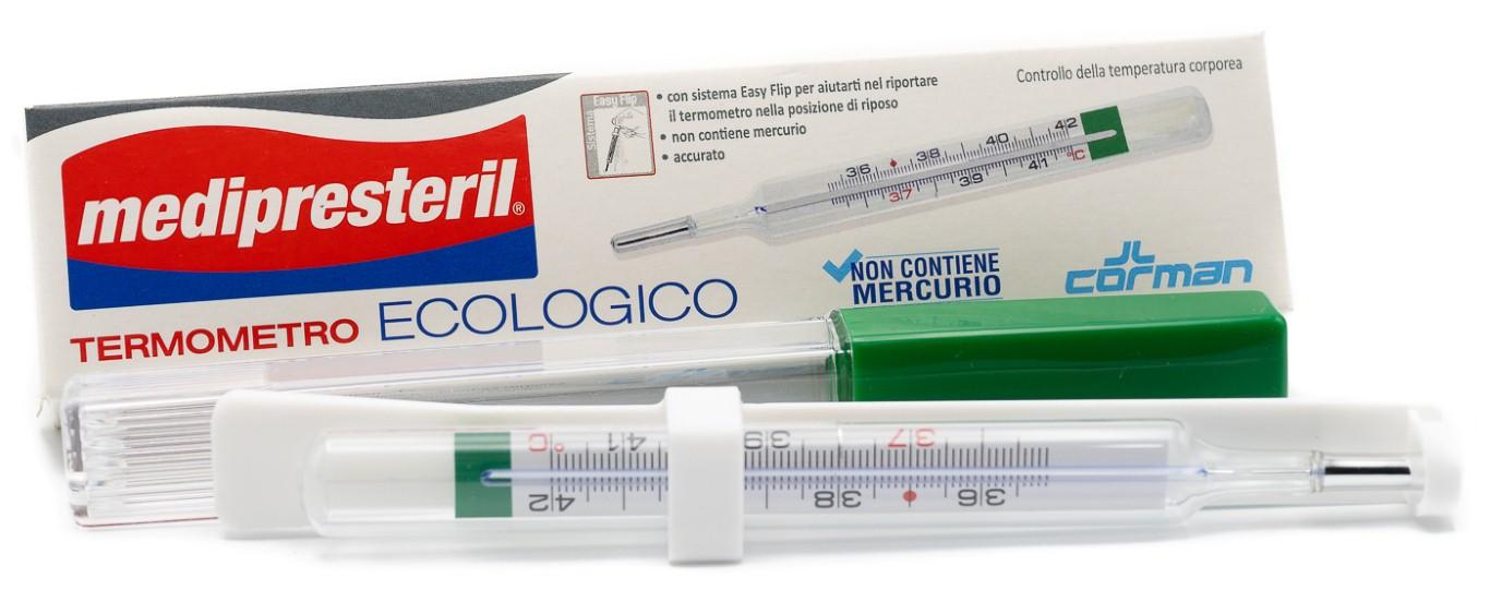 CORMAN SpA Medipresteril Termometro Ecologico