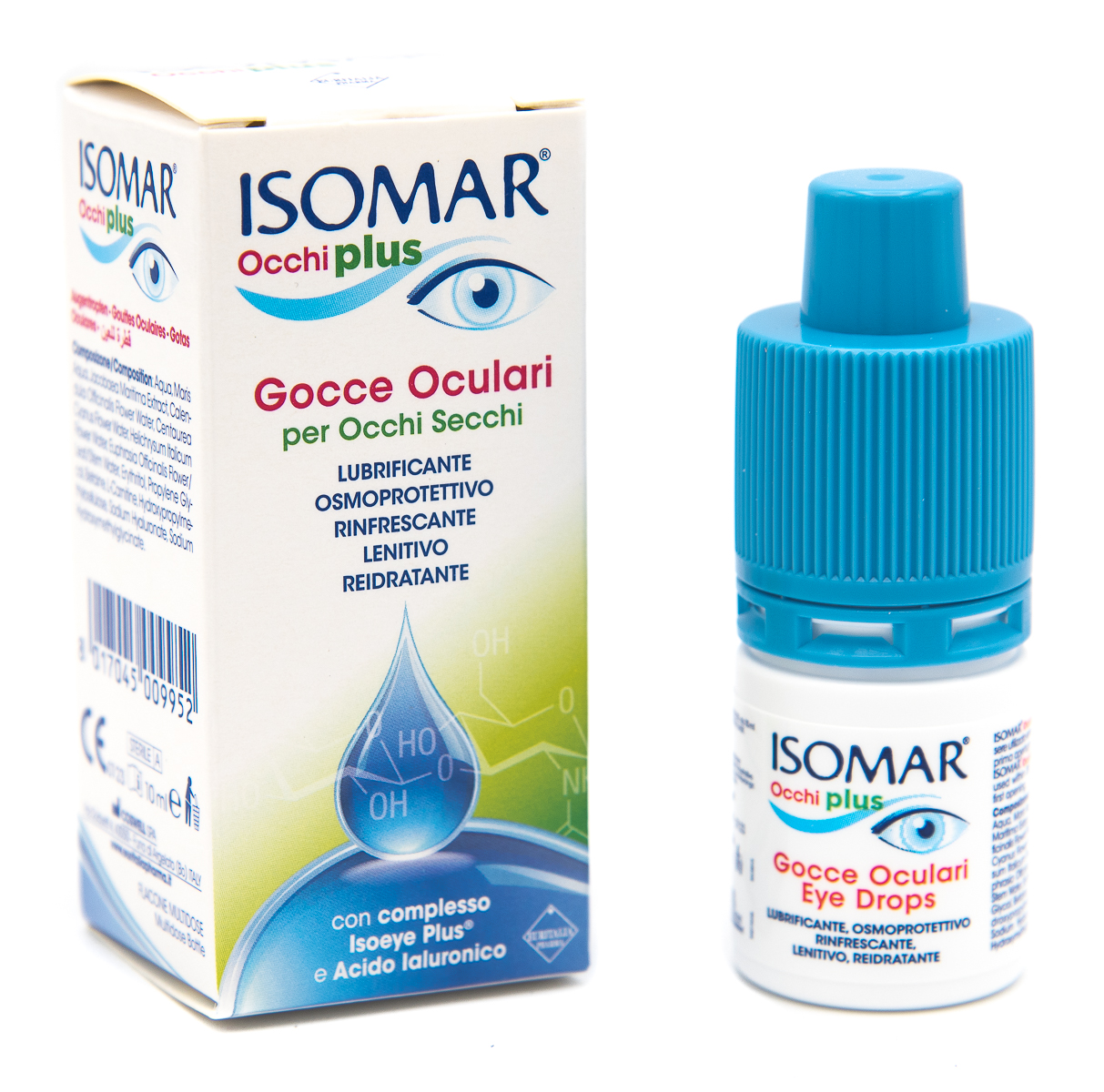 EURITALIA PHARMA (div.CoSWELL) Isomar Occhi Plus Gocce Oculari 10ml
