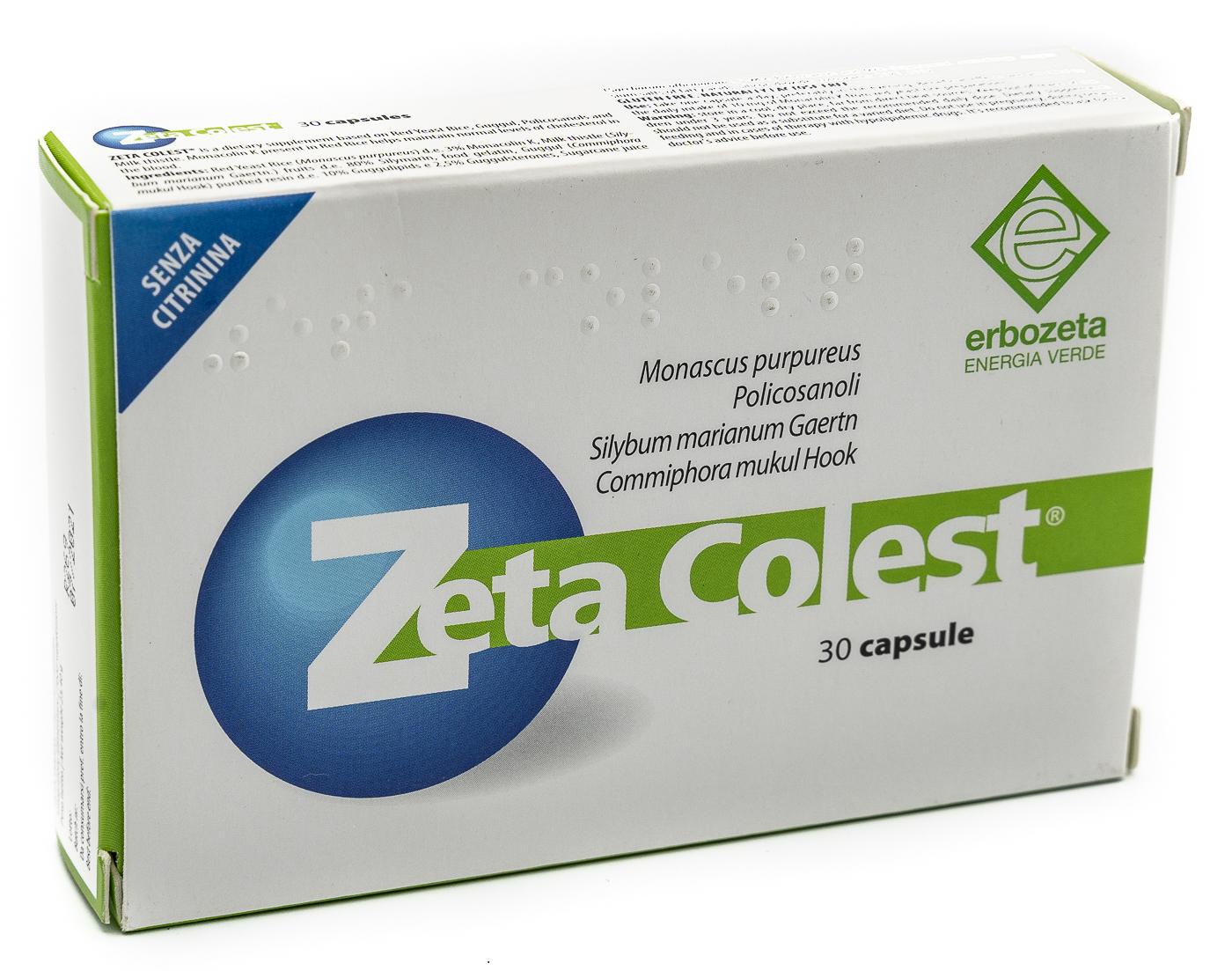ERBOZETA SpA Zeta Colest 30cps