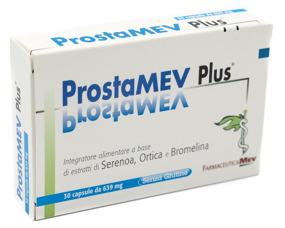 FARMACEUTICA MEV Prostamev Plus 30cps Molli