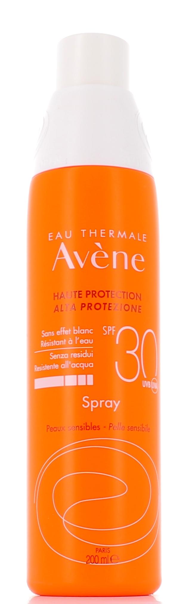 AVENE (Pierre Fabre It. SpA) Avene Solare Alta Protezione Spray Spf30 200ml