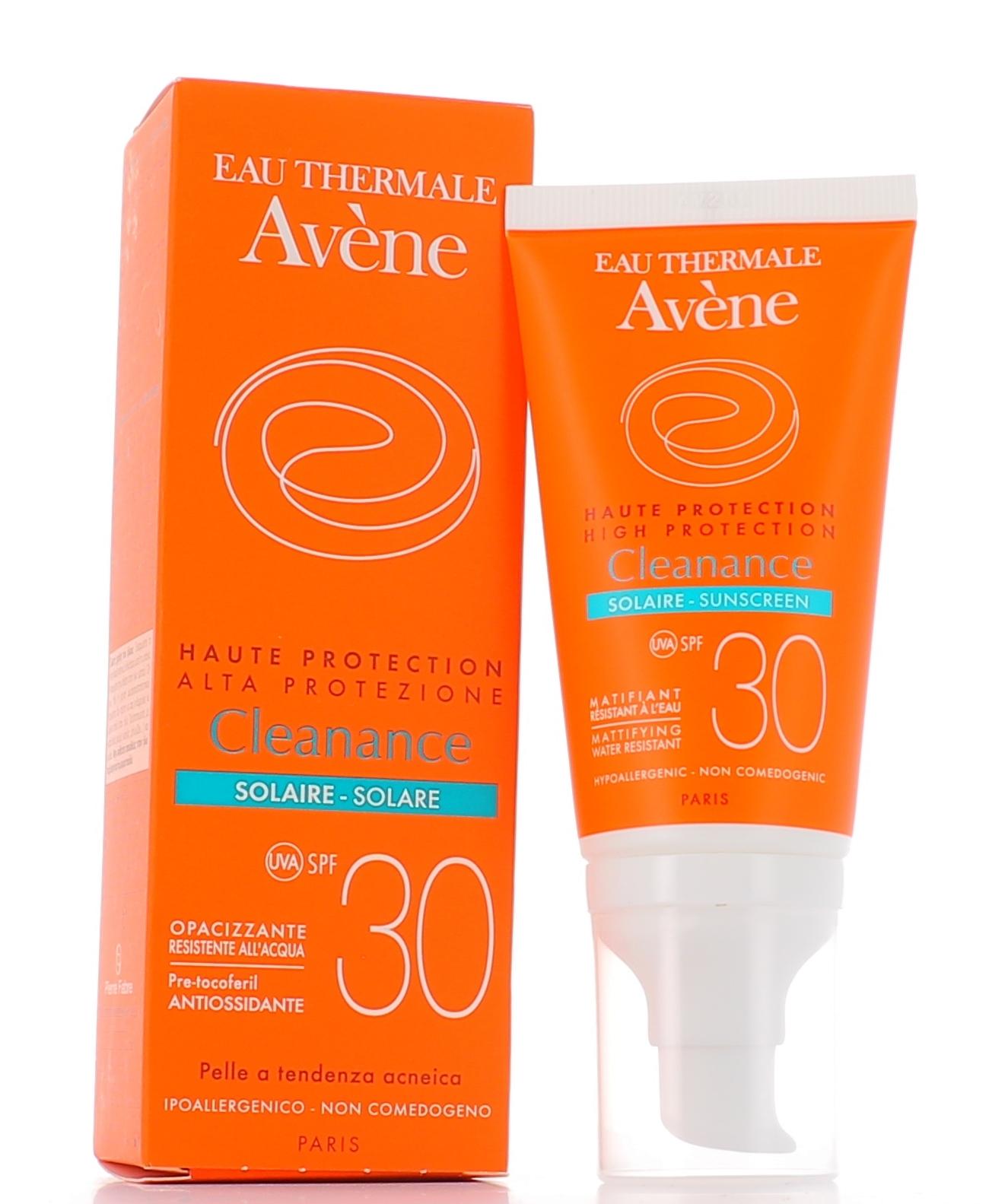 AVENE (Pierre Fabre It. SpA) Avene Solare Cleanance Spf30 50ml