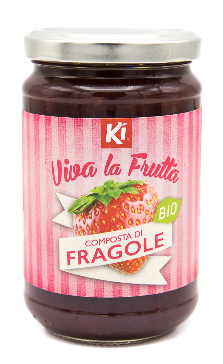 KI GROUP SpA Ki Vivalafrutta Composta Di Fragole Bio 320g