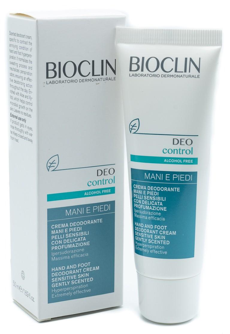 IST.GANASSINI SpA Bioclin Deo Control Crema Mani E Piedi 50ml