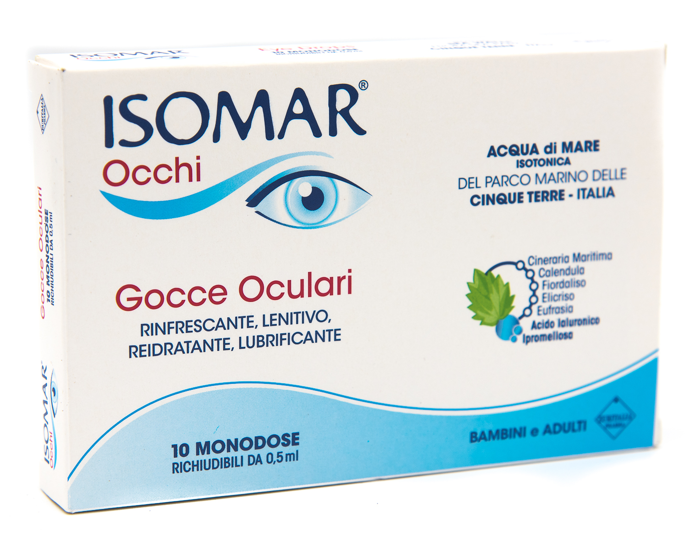 COSWELL SpA Isomar Occhi Gocce Oculari Monodose 10flx0.5ml