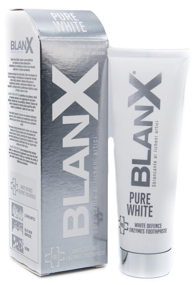 EURITALIA PHARMA (div.CoSWELL) Blanx Dentifricio Sbiancante Pure White 75ml