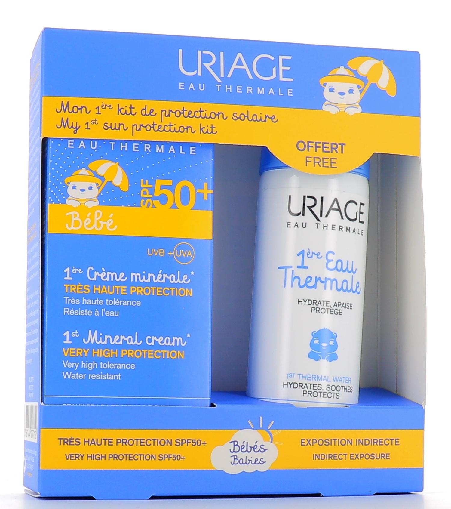 URIAGE LABORATOIRES DERMATOLOG Uriage Bebe Prima Crema Minerale Spf50+ 50ml + Omaggio
