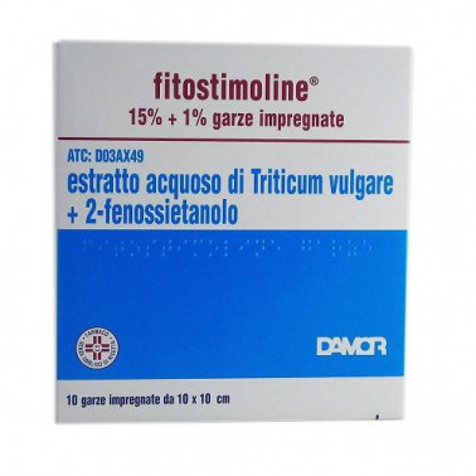 FARMACEUTICI DAMOR SpA - FITOSTIMOLINE*10GARZE 15%