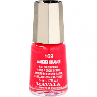 MAVALA ITALIA Srl - MAVALA MINICOLOR 169 WAIKIKI ORANGE 5ML