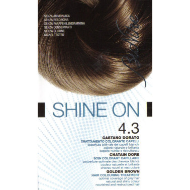 BIONIKE - BIONIKE SHINE ON CAPELLI 4.3 CASTANO DORATO