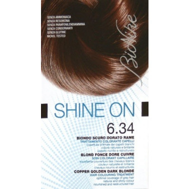 BIONIKE - BIONIKE SHINE ON CAPELLI 6.34 BIONDO SCURO DORATO RAME