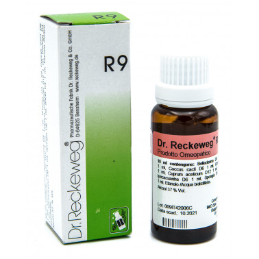 I.M.O.IST.MED.OMEOPATICA SpA - DR. RECKEWEG R9 GOCCE 22ML