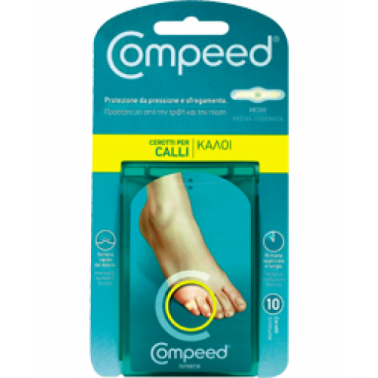 JOHNSON & JOHNSON SpA - COMPEED CEROTTI PER CALLI MEDIO 10PZ
