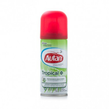 SC JOHNSON ITALY Srl - AUTAN TROPICAL SPRAY SECCO 100ML