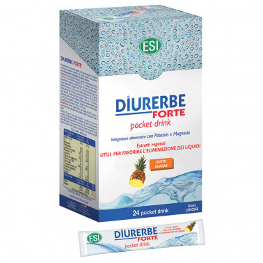 ESI SpA - DIURERBE FORTE GUSTO ANANAS 24POCKET DRINK DA 20ML