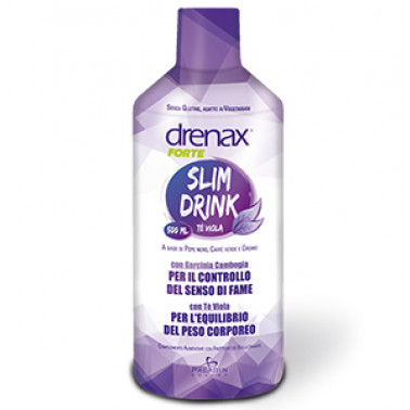 PALADIN PHARMA SpA - DRENAX SLIM DRINK TE' VIOLA 500ML
