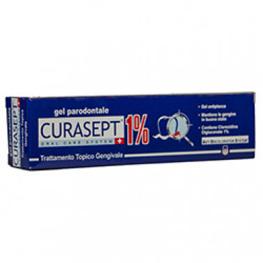 CURADEN HEALTHCARE SpA - CURASEPT GEL PARODONTALE 1% ADS 30ML