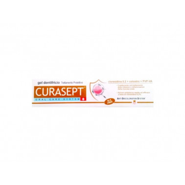 CURADEN HEALTHCARE SpA - CURASEPT GEL DENTIFRICIO TRATTAMENTO PROTETTIVO 0.20 ADS 75ML