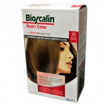 GIULIANI SpA - BIOSCALIN NUTRI COLOR Trattamento Colorante con SincroBiogenina 6 Biondo Scuro