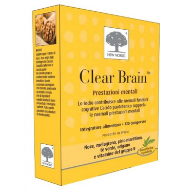 NEW NORDIC Srl - CLEAR BRAIN 120CPR