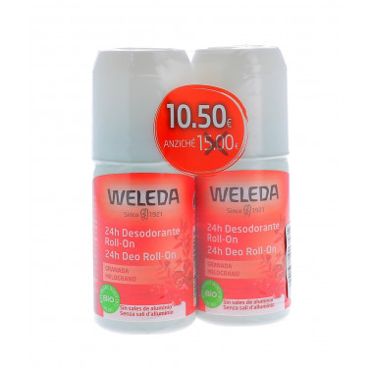 WELEDA ITALIA Srl - WELEDA DUO DEO ROLL-ON MELOGRANO 2X50ML