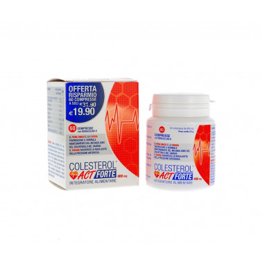F&F Srl - COLESTEROL ACT FORTE 60CPR
