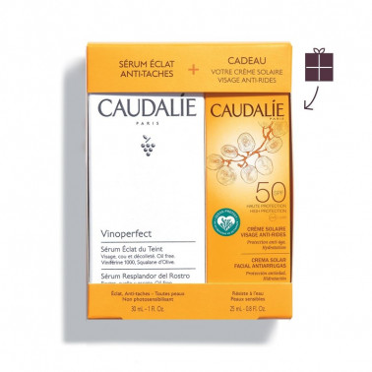 CAUDALIE ITALIA Srl - CAUDALIE Vinoperfect Siero Illuminante Anti-Macchia 30ml+ crema viso spf50 25ml OMAGGIO