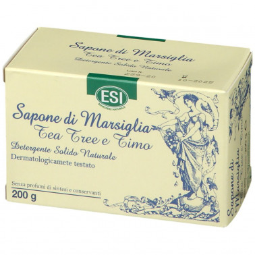 ESI SpA - SAPONE DI MARSIGLIA TEA TREE E TIMO 200G