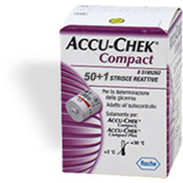 ROCHE DIAGNOSTICS SpA - ACCU-CHEK COMPACT 50+1Str