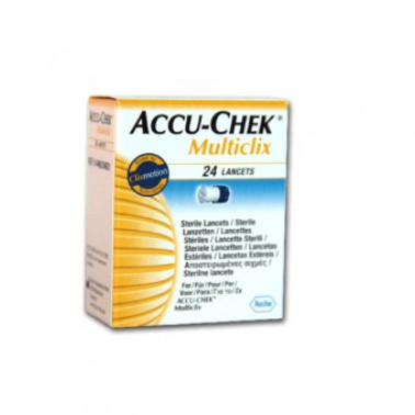 ROCHE DIAGNOSTICS SpA - ACCU-CHEK MULTICLIX 24Pung