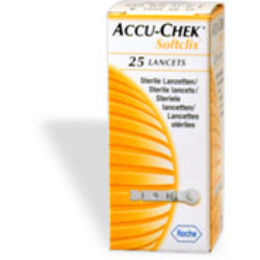 ROCHE DIAGNOSTICS SpA - ACCU-CHEK SOFTICLIX 25Pung
