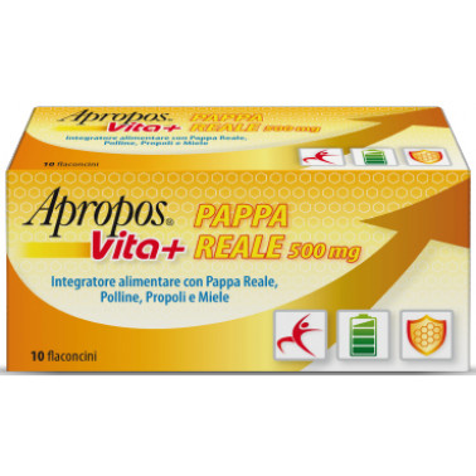 APROPOS - APROPOS Pappa Reale Vta+ 500mg 10 flaconi