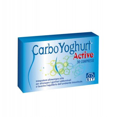 SIT LABORATORIO FARMAC. Srl - CARBO YOGHURT Active 30compresse