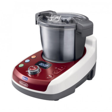 CHICCO (ARTSANA SpA) - CHICCO BABY MEAL Robot da Cucina Chicco De Longhi and Me rosso