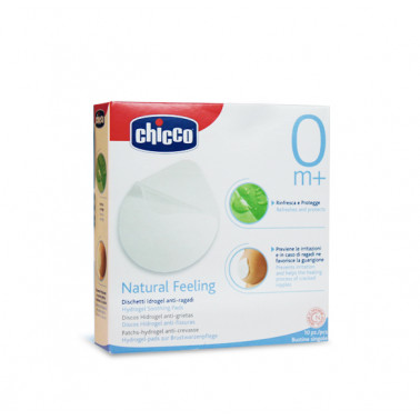 CHICCO (ARTSANA SpA) - CHICCO Natural Feeling Dischetti Idrogel Anti-Ragadi 10pz