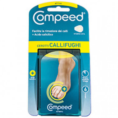 JOHNSON & JOHNSON SpA - COMPEED CEROTTI CALLIFUGHI INTERNO DITA 6PZ