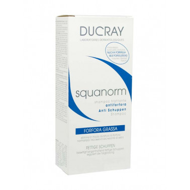 DUCRAY (Pierre Fabre It. SpA) - DUCRAY Squanorm Shampoo Forfora Grassa 200 ml