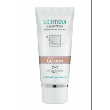 LICHTENA - EQUILYDRA CC CREAM 7 in 1 Anti Colorito Spento 40ml