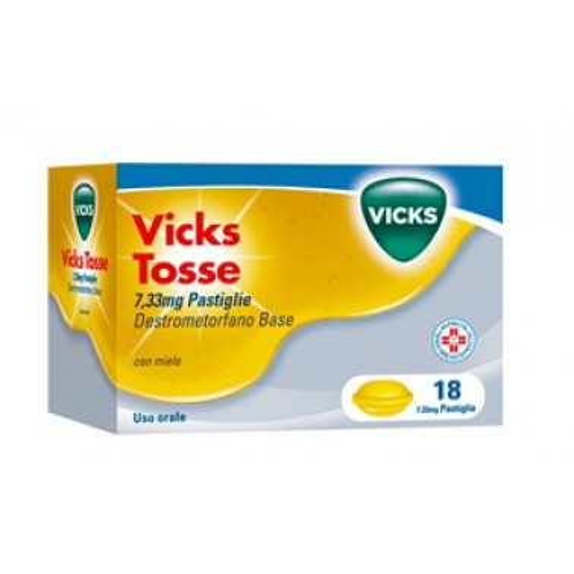 PROCTER & GAMBLE SRL - VICKS TOSSE*18PASTL 7.33MG MIE